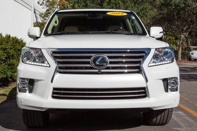 fairly used 2014 Lexus LX570 Car