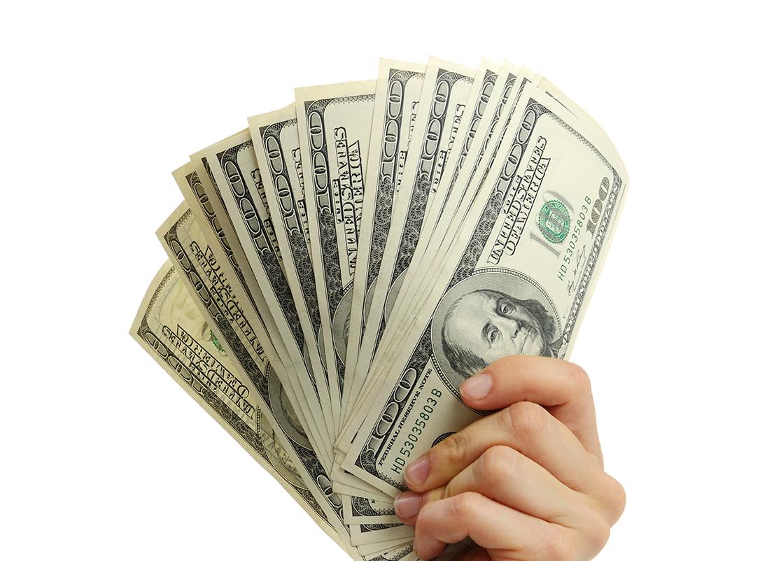 حصلت على قرض بمبلغ 50000 دولار من مقرض القرض
