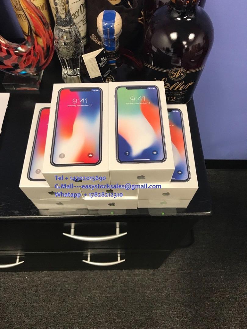 Apple iPhone X 256GB Unlocked Smartphone