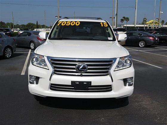 GCC Lexus LX570 2015 For Sale