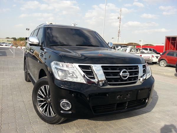 2014 Nissan Patrol le Platinum