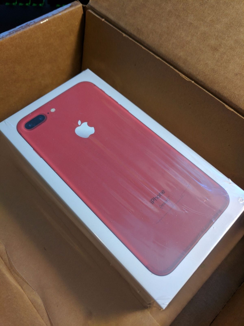 Offer New Original  iPhone 7plus RED Ps4 Pro 1tb