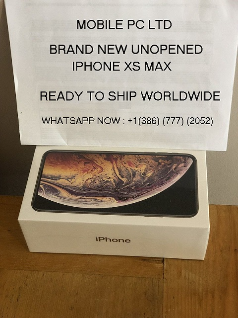 ORDER iPhone XS MAX 64Gb256Gb512Gb Full Package Box- Factory Sealed
